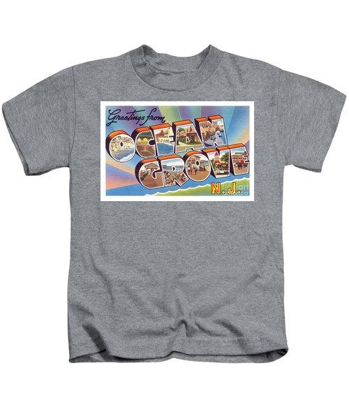 Ocean Grove Greetings Kids T-Shirt