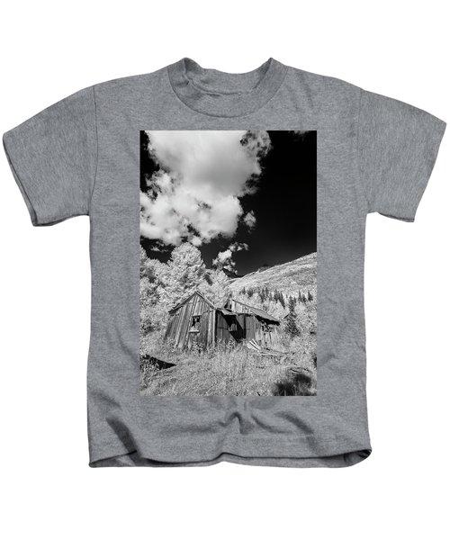 Old Shack In Colorado II Kids T-Shirt