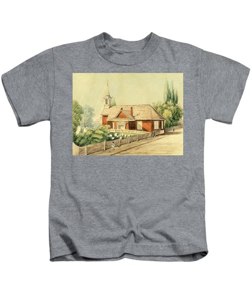 Old Swedes' Church, Southwark, Philadelphia Kids T-Shirt