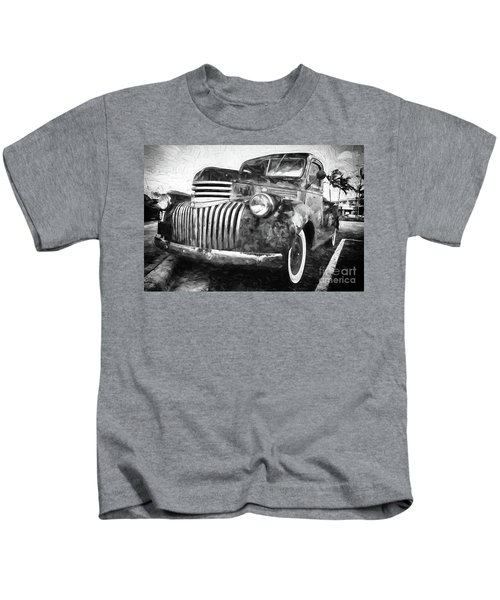 Old Truck  - Painterly Kids T-Shirt