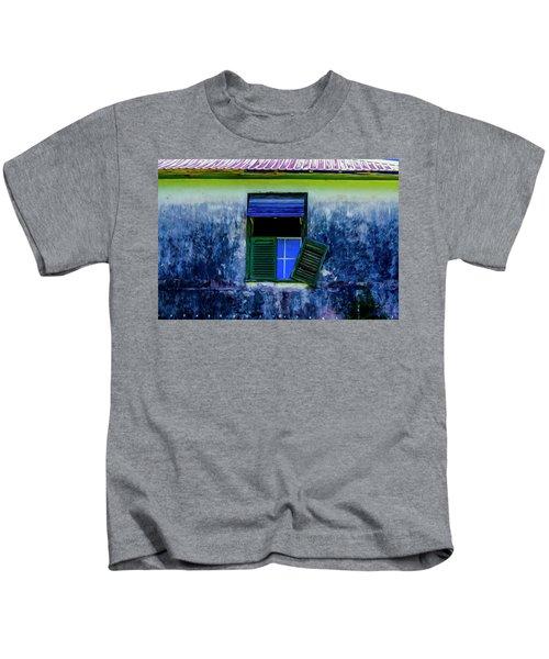 Old Window 3 Kids T-Shirt