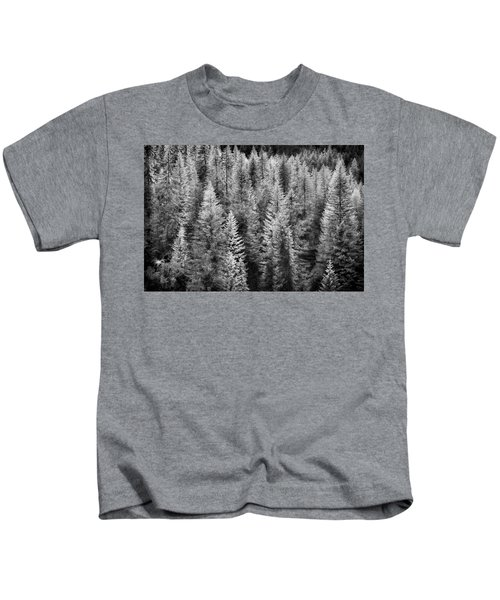 One Of Many Alp Trees Kids T-Shirt