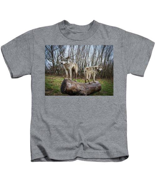 Opposite Ends Kids T-Shirt
