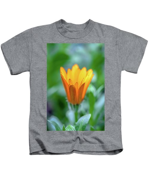 Orange Daisy Kids T-Shirt