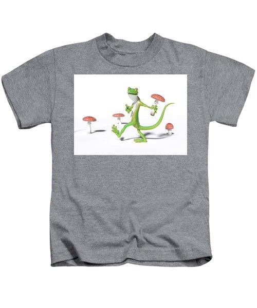 Organic Gecko Kids T-Shirt