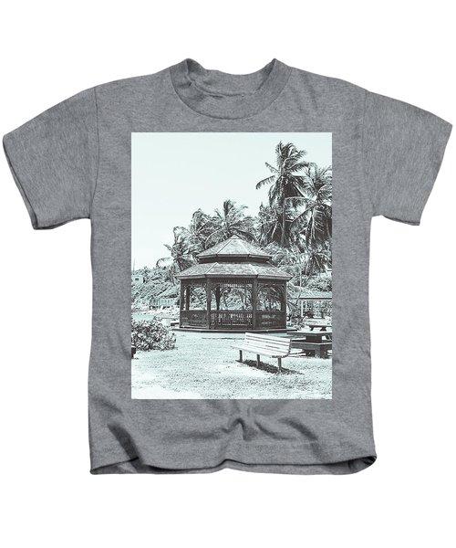 Pagoda On The Sea Kids T-Shirt