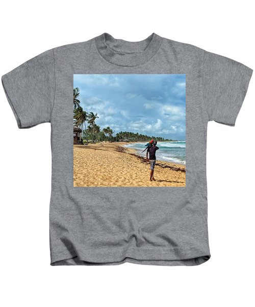 Palm Tree Paradise Kids T-Shirt
