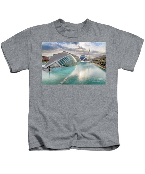 Panoramic Cinema In The City Of Sciences Of Valencia, Spain, Vis Kids T-Shirt