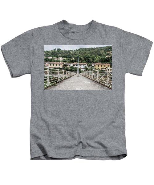 Pedestrian Walkway Kids T-Shirt