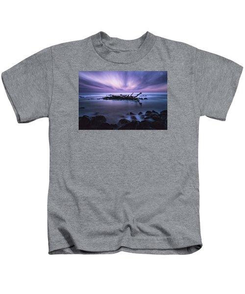 Pastel Tranquility Kids T-Shirt