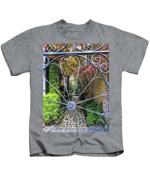 Peek-a-boo Garden Kids T-Shirt