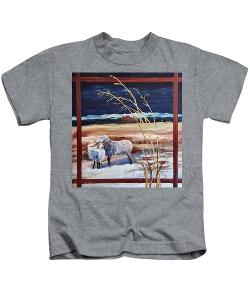 Phil And Alice Navajo Sheep    38 Kids T-Shirt