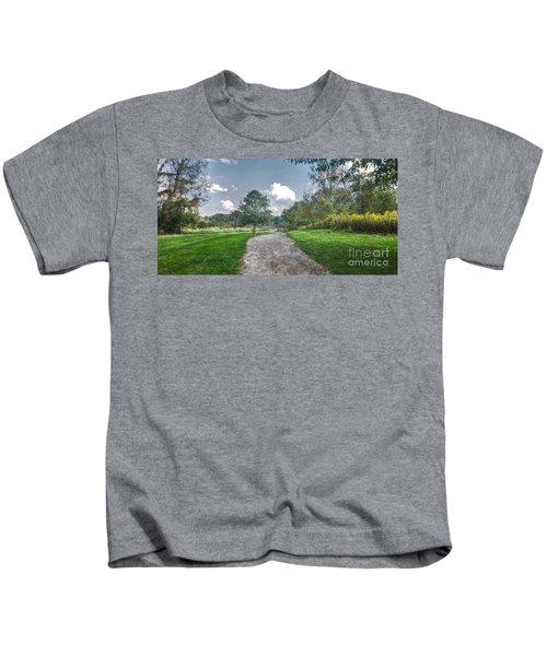 Pickerington Ponds Walkway Kids T-Shirt