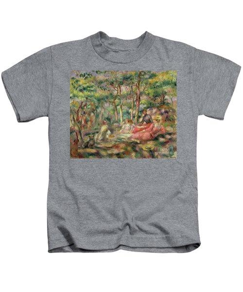 Picnic, Circa 1893 Kids T-Shirt