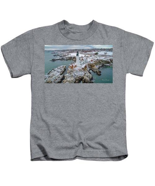 Picturesque Maine  Kids T-Shirt