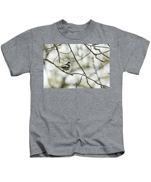 Pied Flycatcher Kids T-Shirt