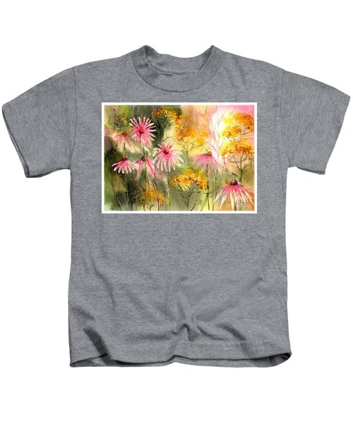 Pink And Gold Kids T-Shirt