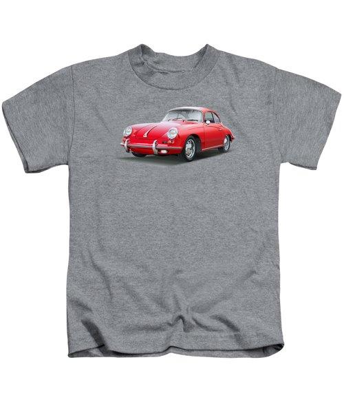 Porsche 356 No Background Kids T-Shirt