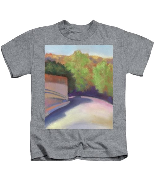 Port Costa Street In Bay Area Kids T-Shirt