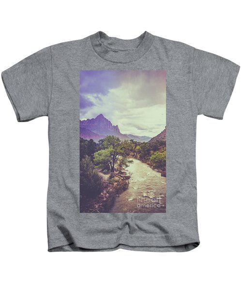 Postcard Image Kids T-Shirt
