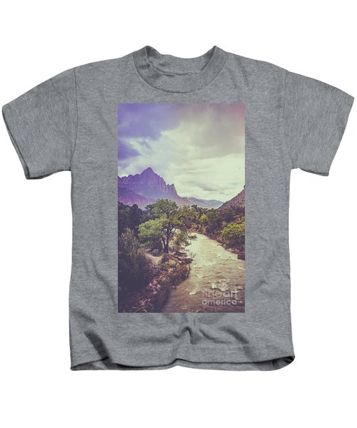 Postcard Image Kids T-Shirt