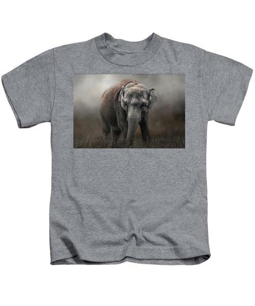 Power And Grace Kids T-Shirt