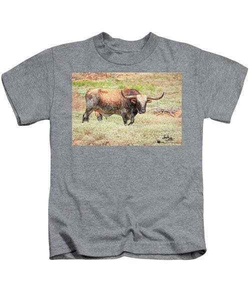 Prairie Longhorn Kids T-Shirt