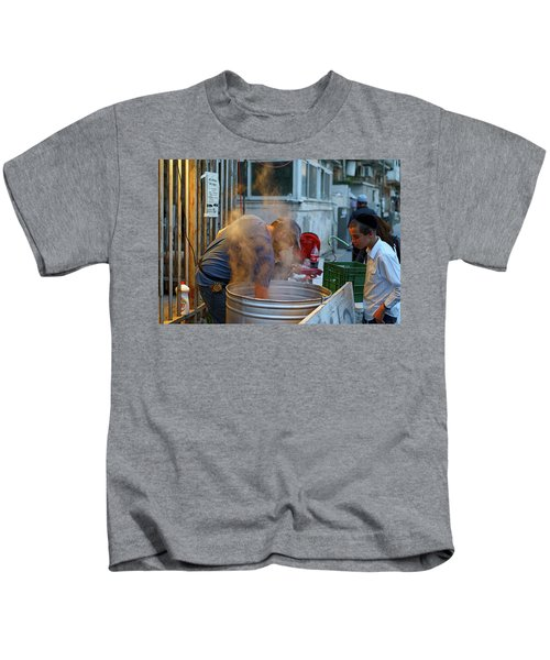 Preparing Dishes For Passover Kids T-Shirt