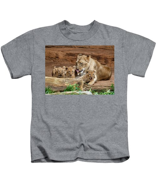 Pride Of The Pride 6114 Kids T-Shirt