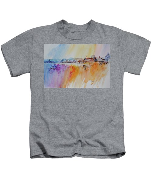 Provincetown Waterfront Homes Kids T-Shirt
