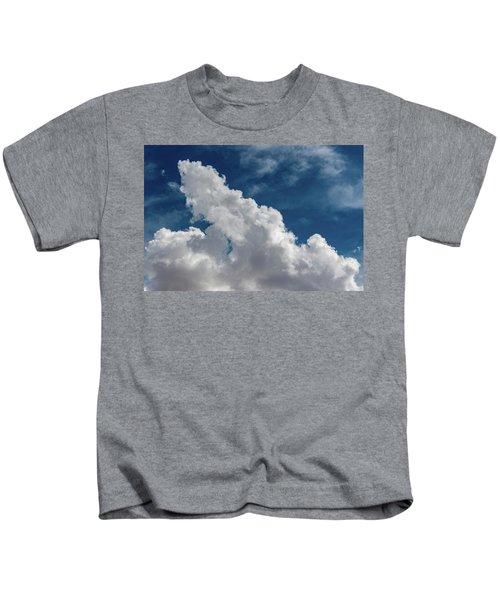 Puffy White Clouds Kids T-Shirt