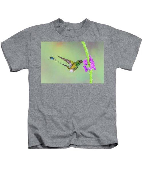 Purple Attraction Kids T-Shirt