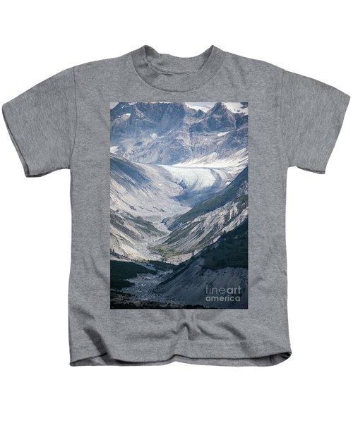 Queen Inlet Glacier Kids T-Shirt
