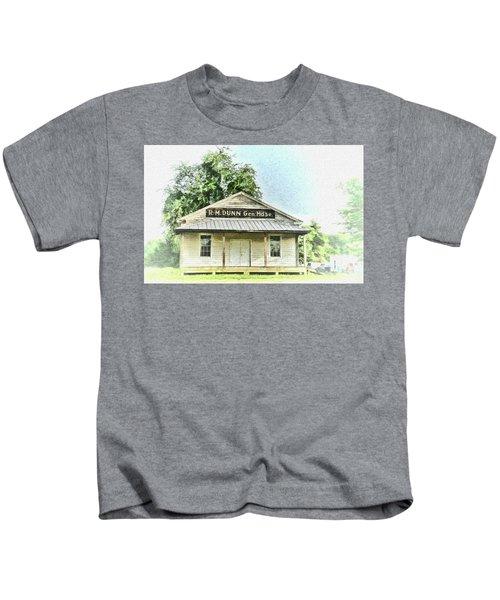 Quiet Reminder Of Yesterday In Goochland, County Virginia Kids T-Shirt