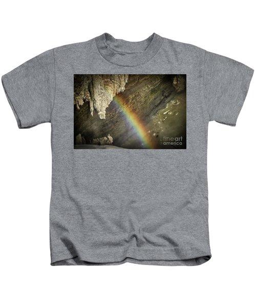 Rainbow At Letchworth Kids T-Shirt
