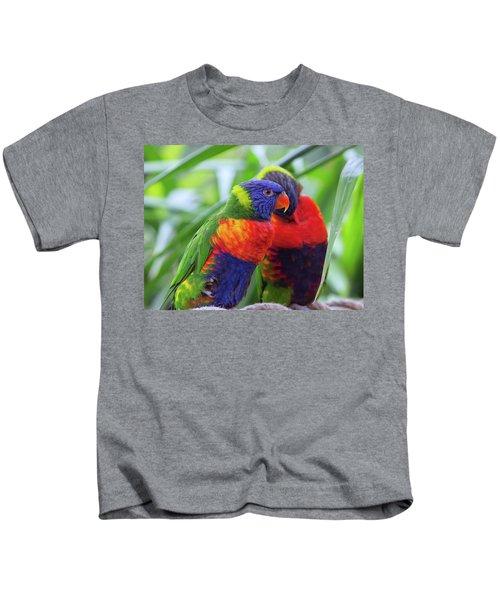 Rainbow Lorikeets Kids T-Shirt