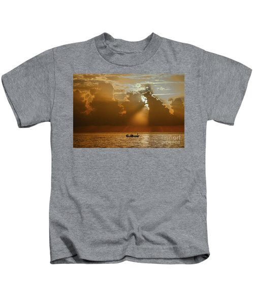 Rays Light The Way Kids T-Shirt