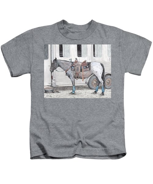 Ready For Battle  Kids T-Shirt