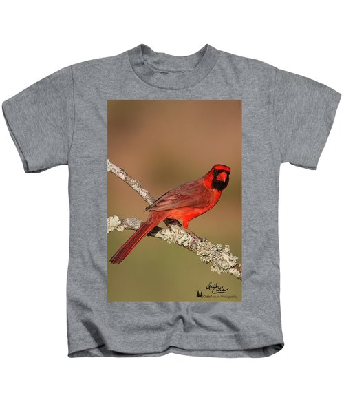 Red And Radiant Kids T-Shirt