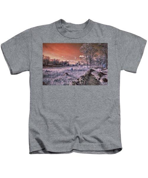 Red Sky At Night Kids T-Shirt