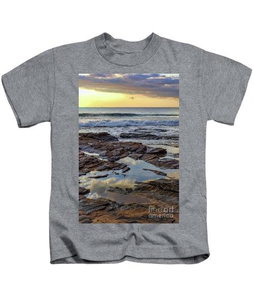 Reflections On The Rocks Kids T-Shirt