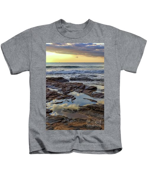 Reflections On The Rocks Kids T-Shirt