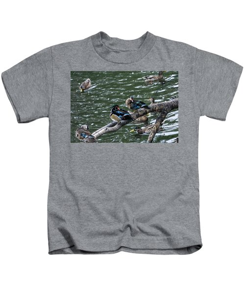 Resting Ducks Kids T-Shirt