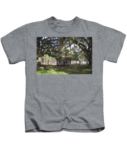 Resting Under The Big Shade Trees Kids T-Shirt