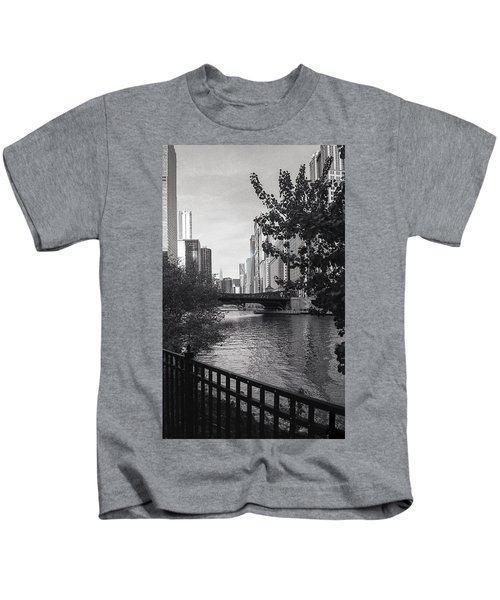 River Fence Kids T-Shirt