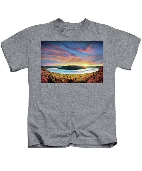 River Of Fog Kids T-Shirt
