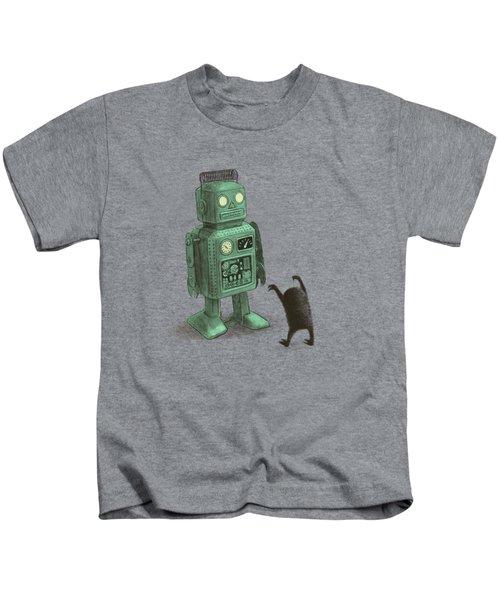 Robot Vs Alien Kids T-Shirt