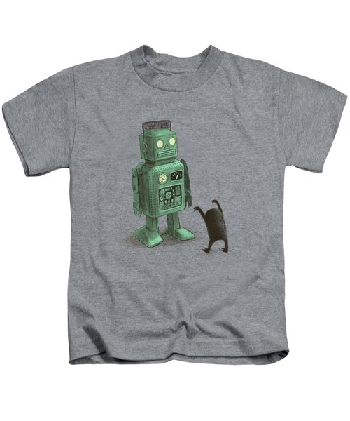 Robot Vs Alien Kids T-Shirt