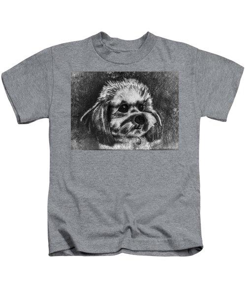 Rocky The Dog Portrait Kids T-Shirt