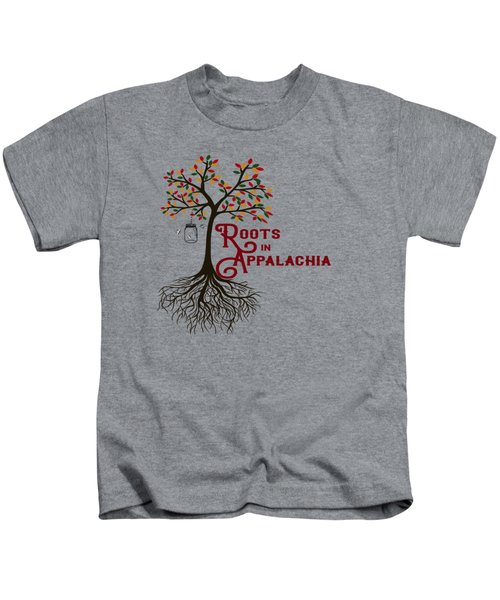 Roots In Appalachia Lightning Bugs Kids T-Shirt